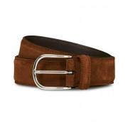 Anderson's Suede 3,5 cm Belt Brown