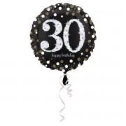 Balon folie Happy Birthday 30 ani - 43 cm