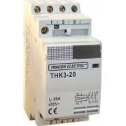 Installációs kontaktor - 230V, 50Hz, 2P, 2xNO, 32A, 24V AC THK2-32-24 - Tracon