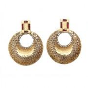 Indian Style Beaded Dangle Drop Fashionable Earrings Traditional Jhumka Jhumki Earrings for Women 22 MAROON