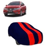 QualityBeast Extreme Car Body Cover for Honda IV-tech (Red Black)