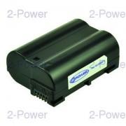 2-Power Digitalkamera Batteri Nikon 7v 1400mAh (EN-EL15)