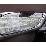 Parasolar auto cu ventuze