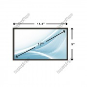 Display Laptop Toshiba SATELLITE PRO P300D-21F 17 inch