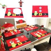 AST Works Christmas Cute Tableware Ornaments Snowman Holiday Party Home Decor Santa Xmas G