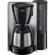 Cafetiera Bosch TKA6A683, 1200 W, 1L/8 cesti, Cană termos, Buton Aroma+, EasyDescale3, Recipient apa detasabil, Sistem antipicurare, Negru