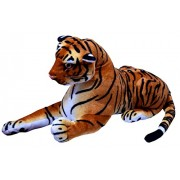 Nexplora Industries Sitting Tiger Animal Soft Plush Toy (30 CM)