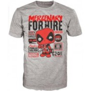 Tricou Deadpool Mercenary for Hire