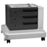 HP LaserJet 3x500-sheet papierinvoer met standaard