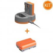 Kit Hahnel Extreme Power cu acumulator HLX-EL15HP + Acumulator pentru Nikon HLX-EL15HP