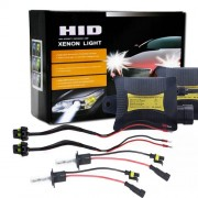 55W H1 4300K 3200LM HID Xenon Light Conversion Kit with High Intensity Discharge Slim Ballast Warm White