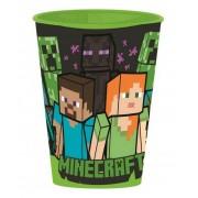 Minecraft pohár műanyag