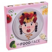 Ms Food Face - Childrens Plate
