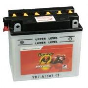 Banner YB7-A bal 12V 8Ah Classic motorkerékpár akkumulátor (+AJÁNDÉK!)