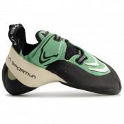 La Sportiva - Women's Futura - Klimschoenen maat 36,5 zwart/groen/grijs