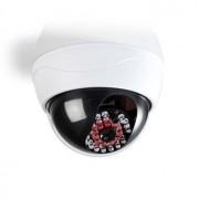 Nedis Dummy-camera dome voor buitengebruik met LED Wit