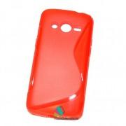 Husa Silicon Gel Samsung Galaxy Core 4G G386F LTE S-Line Rosie