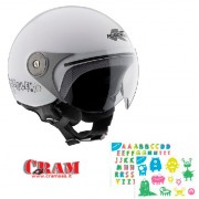 HKJ02BB91052 CASCO KAPPA BUBBLE J02 JUNIOR BIANCO LUCIDO TG 52