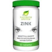Naturens apotek Zink 90 tabletter