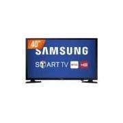 Smart TV LED 40 Full HD Samsung UN40J5200 2 HDMI 1 USB Wi-Fi Integrado Conversor Digital -
