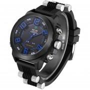 Relojes WEIDE WH5202 Para Hombre Militares Deportes Al Aire Libre - Azul