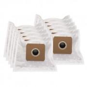 Premium Dammsugarpåsar, syntetfiber, 10st. + motorfilter DU12230-2 Replace: N/A