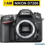 Digitalni fotoaparat Nikon D7200 kit 18-105VR