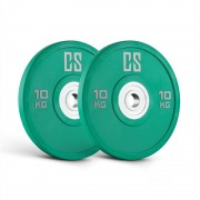 Capital Sports Performan Urethane Plates Paire de disques poids 10 kg en dur