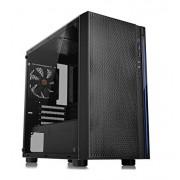 Gabinete Thermaltake Versa H18, Micro-ATX sin fuente negro