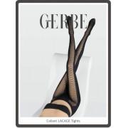 Gerbe Extravaganta strumpbyxor med förföriskt mönster Lacage noir 3