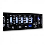 Skytec STM-3005REC Table de mixage 4 pistes DJ USB MP3 EQ