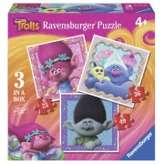PUZZLE TROLLS, 25/36/49 PIESE
