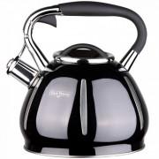 Свирещ чайник Oliver Brown OB 1220 C, 3 литра, Топлоизолирана дръжка, Подходящ за индукция