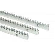 Ozubnice kovová IT01C pozinkovaná, 10x30x1000 + montážní šrouby a pouzdra