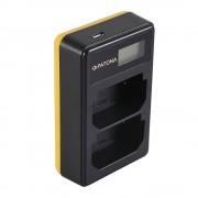 Patona Incarcator USB Dual cu LCD tip Sony BC-QZ1