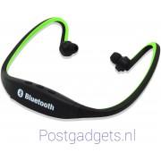 Bluetooth 4.0 In-ear Oortje / S9 /Draadloze Koptelefoon / Wireless Headset / Oordopjes / Oortjes / Hoofdtelefoon / Oortelefoon / In ear Headphones / Headphone / Draadloos / Sport Headsets / Muziek / Earphones / S9 / Zwart met groen kleur zonder doos