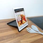 Shop4 - Microsoft Surface 3 Stand Tablet Houder Zwart