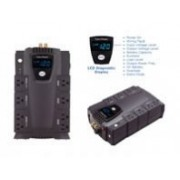 NO BREAK / UPS CYBERPOWER LCD INTELIGENTE 685 VA 390 WATTS 3 AÑOS DE GARANTA EN PILA Y EQUIPO