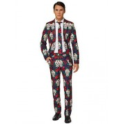 Suitmeister Men's Day of The Dead Suitmiester Suit Costume X-Large