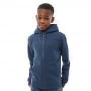 Farah Junior Patched Hoodie Dark Denim