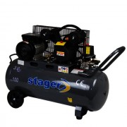 Compresor Stager HM-V-0.25/100, 100l, 8bar