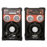 Boxe active Bluetooth Ailiang 198E-DT, 200 W, radio, suport card, USB, MP3, telecomanda