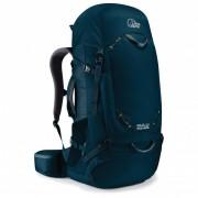 Lowe Alpine - Kulu 55-65 - Sac à dos trek & randonnée taille 55-65 l - Large: 51-56 cm;55-65 l - Regular: 46-51 cm, noir;noir/bleu