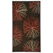 Covor Decorino, Floral, polipropilena, C-020155, 60x110 cm, Maro