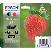 Epson 29 Original Ink Cartridge C13T29864012 Black & 3 Colours 4 Pieces