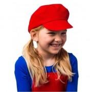 Geen Mario petje verkleed accesoire voor kinderen