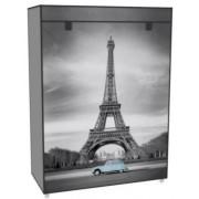 Vászon tároló szekrény, cipős 80 x 30 x 60 cm Paris