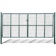 Градинска мрежеста оградна врата, 415 x 250 см / 400 x 200 см