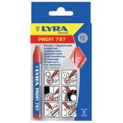 Креда за дървесина, червена - PROFI 797® (12мм x 120мм), 12 бр./оп., 4870017, LYRA