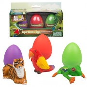 Animal Planet Grow Eggs- Rain Forest- Hatch and Grow Three Different Super-sized Animals (Series 2)